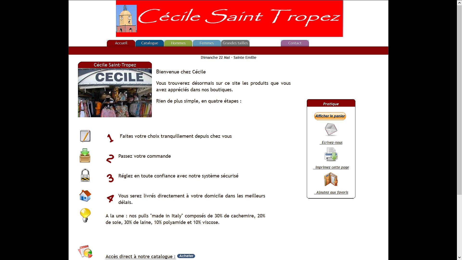Cecile St Tropez